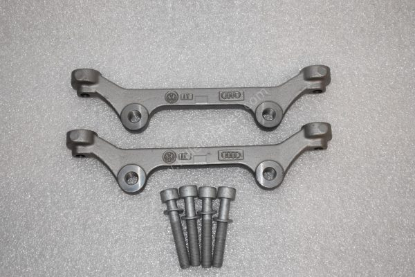 Audi Rs6 RS7 adapter brackets 6pots OEM Brembo for 390mm discs(wave and round)-2
