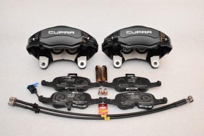 Seat Leon Cupra 5F 4Pot Calipers brake upgrade Audi TTS 2018 NEW Black