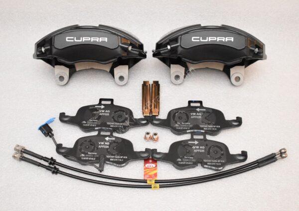 Seat Leon Cupra 5F 4Pot Calipers brake upgrade Audi TTS 2018 NEW Black-16