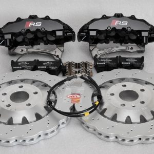Audi TTRS 8S Brembo 8Pot Calipers 370x34mm Wave Brake discs mk5/6/7 R20 S3 8P 8V TTRS mk7 R Black