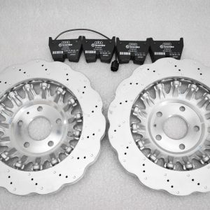 Audi TTRS 8S 8S0615301C Wave Brake Discs 370x34mm 8V0698151K brake pads NEW