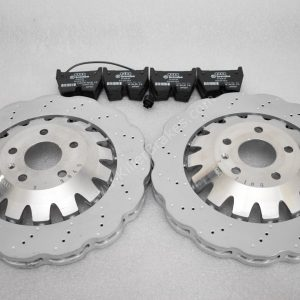 Audi Rs3 8v Sportback 8V0615301C Wave Brake Discs 370x34mm 8V0698151K brake pads NEW