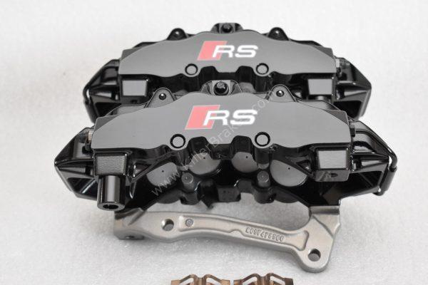Audi TTRS 8s RS3 8v Brembo 8Pot Calipers 8V0615107D 8V0615108D 20.7675.02 brackets pads pins NEW-12