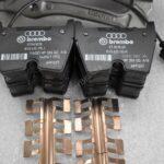 Audi TTRS 8s RS3 8v Brembo 8Pot Calipers 8V0615107D 8V0615108D 20.7675.02 brackets pads pins NEW-4