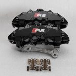 Audi TTRS 8s RS3 8v Brembo 8Pot Calipers 8V0615107D 8V0615108D 20.7675.02 brackets pads pins NEW-8