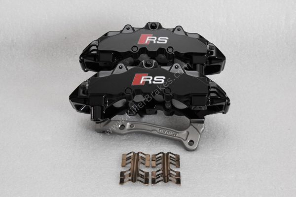 Audi TTRS 8s RS3 8v Brembo 8Pot Calipers 8V0615107D 8V0615108D 20.7675.02 brackets pads pins NEW-8