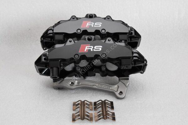 Audi TTRS 8s RS3 8v Brembo 8Pot Calipers 8V0615107D 8V0615108D 20.7675.02 brackets pads pins NEW-9