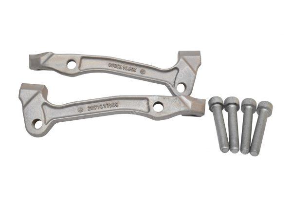 Audi Rsq3 8U Brembo 8pot caliper brackets adapters 2097477900 2097478000 New