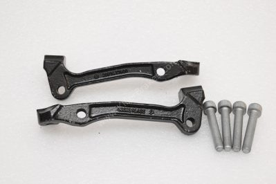 Audi Rsq3 Brembo 8pot caliper brackets adapters used