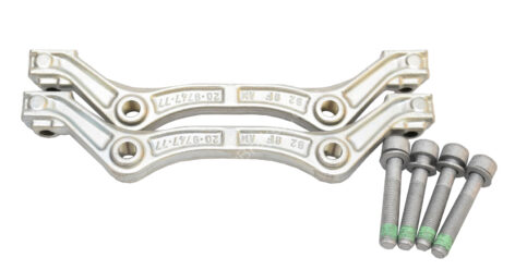 Front Ceramic Calipers adapters brackets Mercedes W222 W217 S63 S65 420mm New