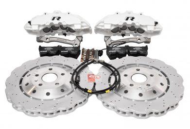 Audi RSQ3 8U Brembo 8Pot Brake Kit 365x34mm Wave Brake discs NEW Oryx White