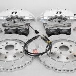 Audi RS Full Big brake upgrade Brembo 8Pot Calipers 365mm Wave Brake discs Brand NEW Oryx White – 1