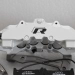 Audi RS Full Big brake upgrade Brembo 8Pot Calipers 365mm Wave Brake discs Brand NEW Oryx White – 3