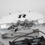Audi RS Full Big brake upgrade Brembo 8Pot Calipers 365mm Wave Brake discs Brand NEW Oryx White – 4