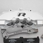 Audi RS Full Big brake upgrade Brembo 8Pot Calipers 365mm Wave Brake discs Brand NEW Oryx White – 5