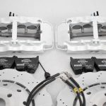 Audi RS Full Big brake upgrade Brembo 8Pot Calipers 365mm Wave Brake discs Brand NEW Oryx White – 6