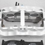 Audi RS Full Big brake upgrade Brembo 8Pot Calipers 365mm Wave Brake discs Brand NEW Oryx White – 7