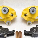 Audi S3 8p 8v 4Pot Calipers brake upgrade Audi TTS 2018 NEW Yellow S3 logo – 3
