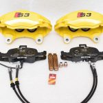 Audi S3 8p 8v 4Pot Calipers brake upgrade Audi TTS 2018 NEW Yellow S3 logo – 8