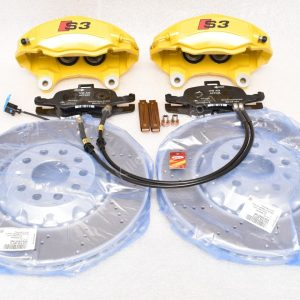 Audi TTS 8S 4Pot Brake kit Upgrade ClubSport brake discs NEW Yellow