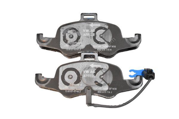 Audi TTS 8S OEM brake pads with wear sensor 8S0698151B NEW