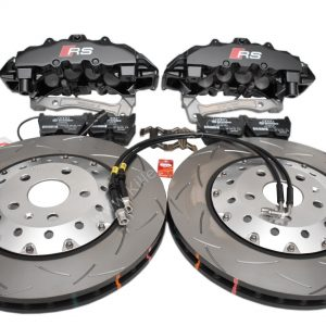 Audi RSQ3 Big Brake Upgrade Brembo 8Pot Calipers 365x34mm Round Slotted 2-piece DBA 52836SLVS Brake discs