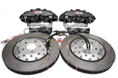 Audi RSQ3 Big Brake Upgrade Brembo 8Pot Calipers 365x34mm Round Slotted 2-piece DBA 52836SLVS Brake discs