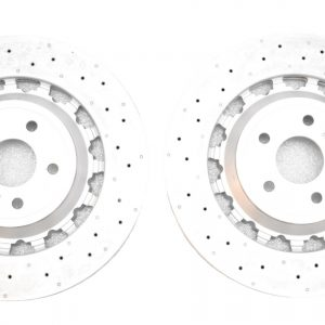 Audi Rs3 8v Sedan 8V0615301R Round Brake Discs 370x34mm NEW