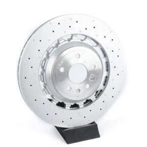 Front Audi Rs3 8v Sedan 8V0615301R Round Brake Discs 370x34mm Pair NEW