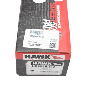 Audi Rs4 Rs5 B8 R8 Hawk Performance Brake Pads Compound HPS 5.0 HB609B.572 NEW