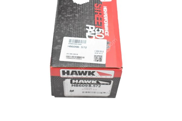 Audi Rs4 Rs5 B8 R8 Hawk Performance Brake Pads Compound HPS 5.0 HB609B.572 NEW