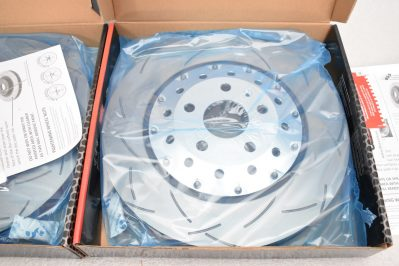 Audi Rsq3 Brake Discs DBA 52836SLVS 365x34mm 5000 series Fully Assembled 2-Piece Clear Anodised T3