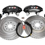 Audi TTS 8S 4Pot Brake kit Upgrade Tarox F2000 Slotted brake discs NEW