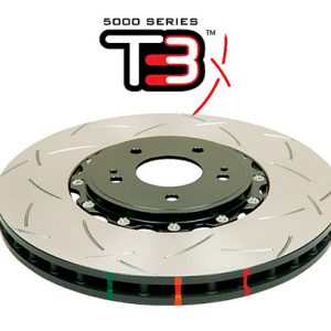 Audi RS4 RS5 B8 Rear Brake Discs DBA 52835SLVS 330x22mm 5000 series 2-Piece Clear Anodised - T3