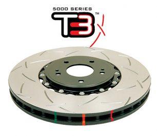 Audi RS4 RS5 B8 Rear Brake Discs DBA 52841SLVS 330x22mm 5000 series 2-Piece Clear Anodised - T3