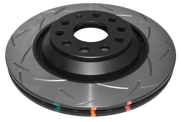 Rear DBA 42809S Brake Discs 310x22mm 4000 series T3 Slotted New