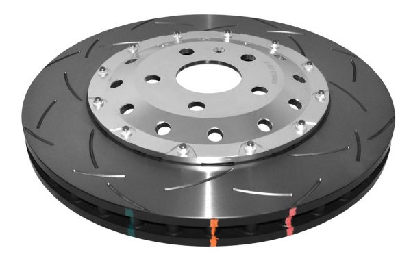 Front Audi Rs4 RS5 R8 Brake Discs DBA 52834SLVS 365x34mm 2-Piece Anodised