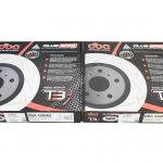 Front DBA 42808S Brake Discs 345x30mm 4000 series T3 Slotted New