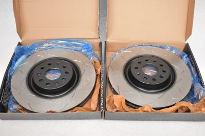 Front DBA 42830S Brake Discs 340x30mm- 4000 series T3 Slotted New