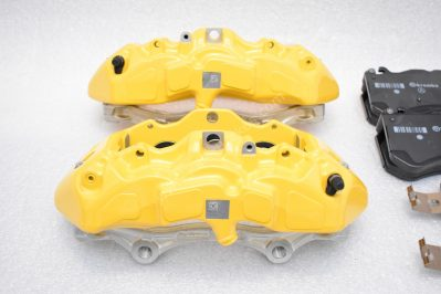 Genuine AMG 6pot Brake Calipers Set with pads for Mercedes-Benz W222 S63 S65 S class Yellow NEW