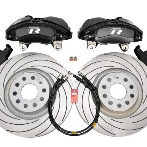 Golf 7R 7.5R 6 R20 4Pot Brake kit Upgrade TAROX F2000 brake discs Tarox Strada Brake Pads NEW