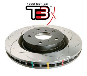 Ford Focus Mk3 RS 2.3 Turbo Front Brake Discs DBA 42968S 350x25mm 4000 series T3 Slotted