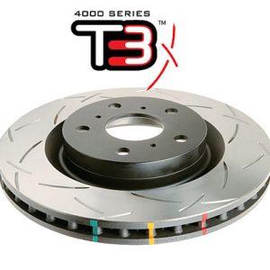 BMW Rear DBA 42677S 345x24mm Brake Discs 4000 series T3 Slotted New