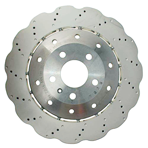 Audi R8 4S Rear 4S0615601B 356x32mm Wave brake discs NEW