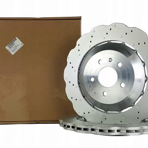 Rear Audi RS6 C7 Brake Discs 4G0615601E 356x22mm Wave NEW