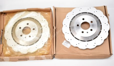 Audi RS7 4G Rear 4G8615601E 356x22mm Wave brake discs NEW