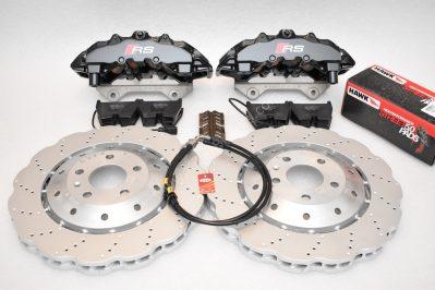 Audi Rs4 RS5 R8 Front Brembo 8Pot 365x34mm Wave brake discs Black