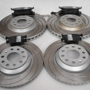 Audi S3 8v Mk7 R Cupra 5F Front and Rear TAROX F2000 Brake discs Tarox Strada brake pads Upgrade Pack