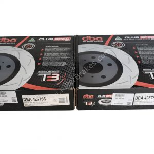 Bmw Front DBA 42676S 340x30mm Brake Discs 4000 series T3 Slotted New