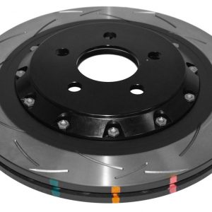 Rear DBA Brake Discs 52165BLKS 330x25mm Ford Mustang 2.3 2-Piece Black Hat